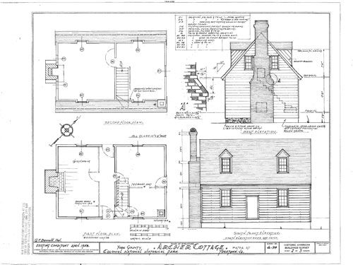 Timber Framed Colonial Cottage Colonial House Plans Colonial House Early American Homes