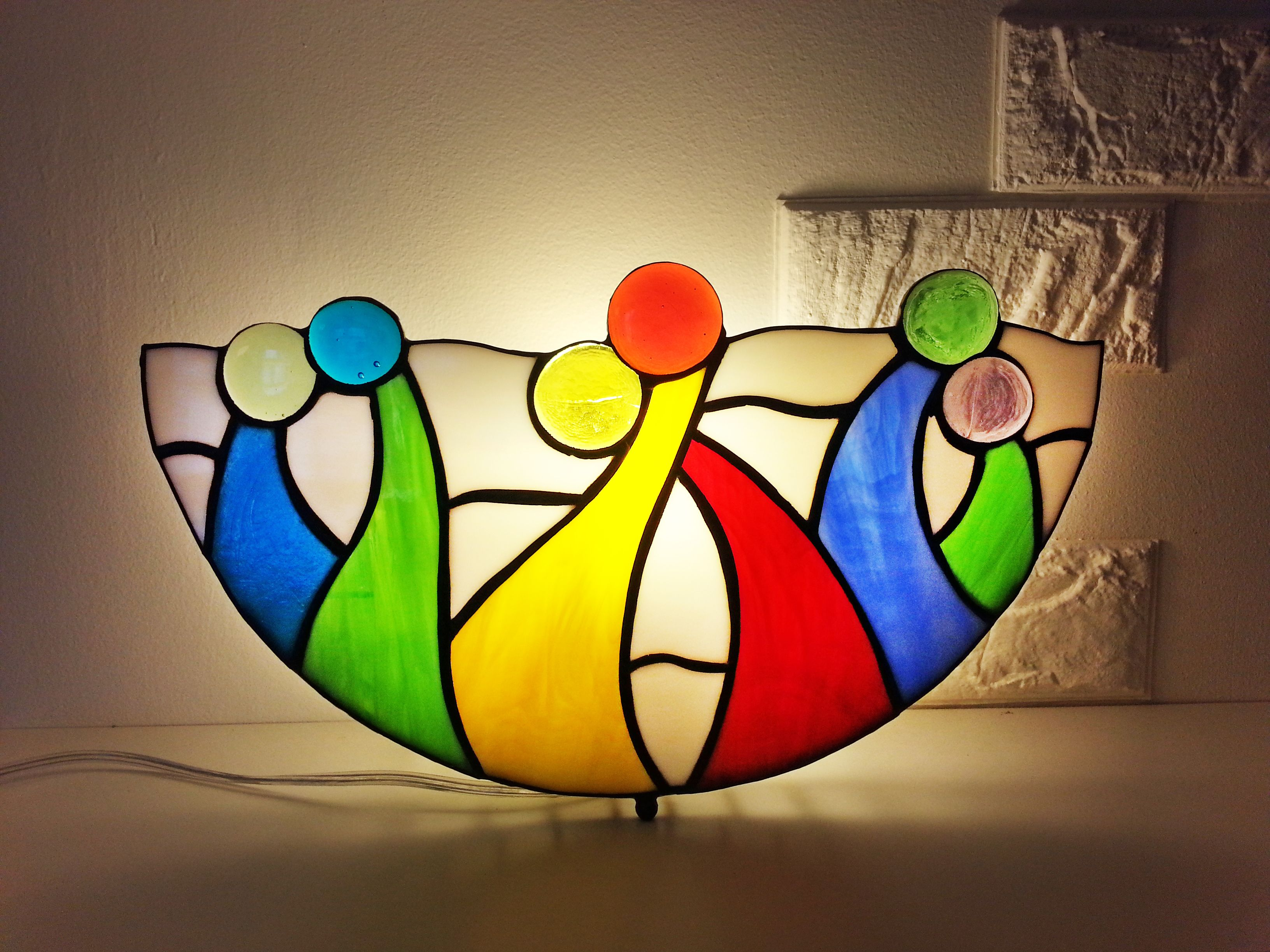 Your Place To Buy And Sell All Things Handmade Stained Glass Table Lamps Fan Lamp Shelf Lamp