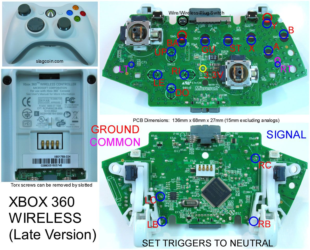 obd2 to usb wiring diagram xbox controller to usb wiring diagram pin by zachary cousineau on projects | electronic parts ...