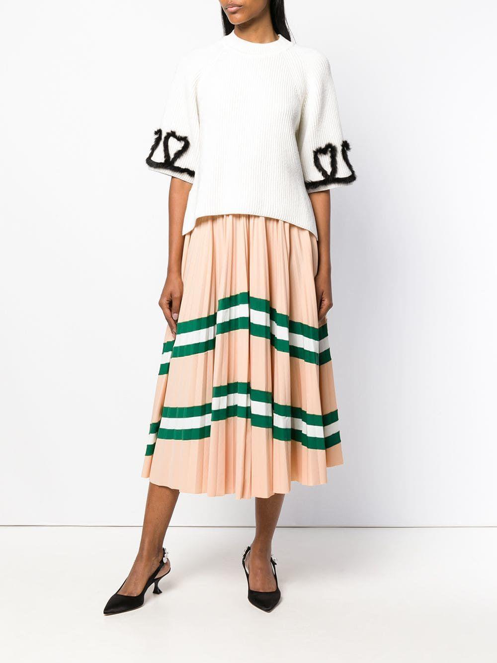 Fendi ribbed knitted top - Купить в Интернет Магазине в ...