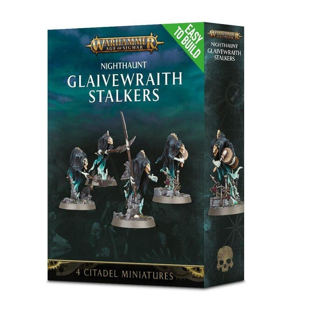 NEW//BOX Warhammer Age of Sigmar Easy to Build Glaivewraith Stalkers
