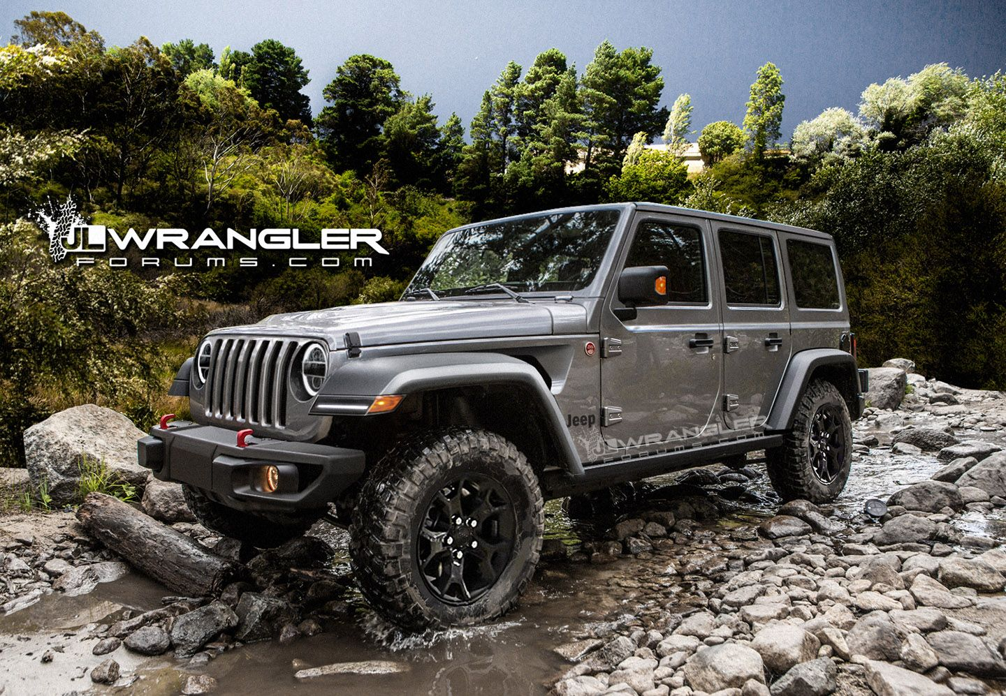 Just another render of 2018 jeep wrangler jlu rubicon we guess that 2018 jeep wrangler jlu