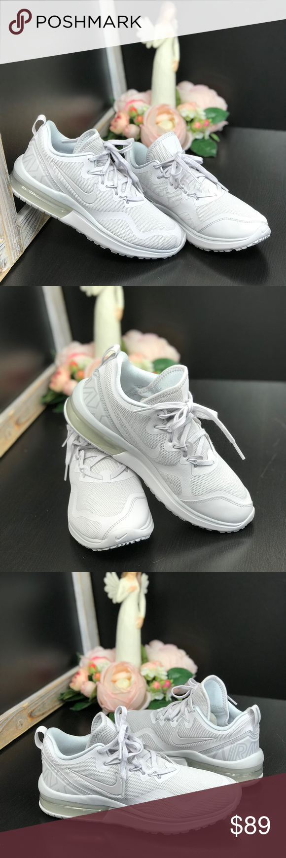 NWT Nike Air Max Fury Pure Platinum WMNS Brand new with no