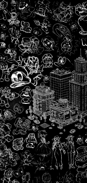 Super Mario Odyssey 1440x3040 Amoledbackgrounds Super Mario Art Mario Art Super Mario