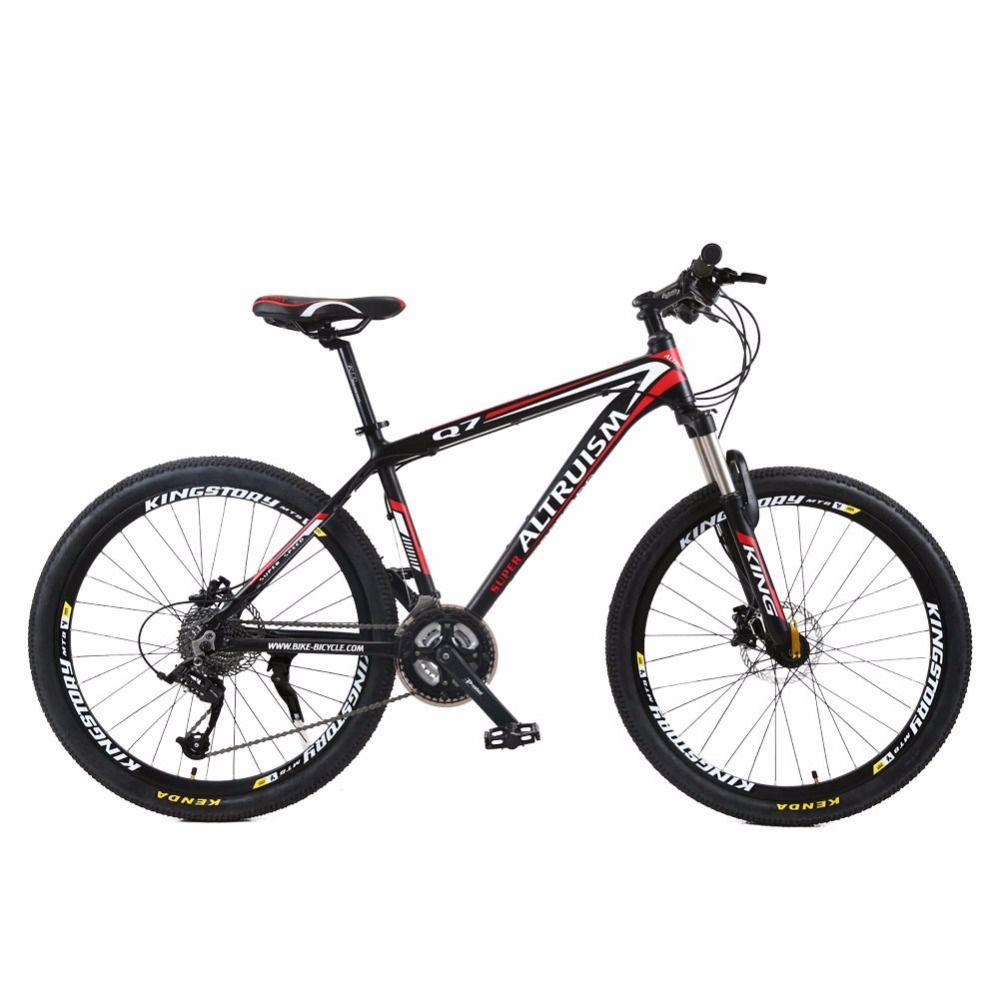 Altruism Q7 21 Speed Men Women Mountain Bike 26 Inch Aluminum Mtb Bicycle Brand Bicicleta Disc Brake Cycling Bike 202 48 323 98 Bicycle Gratefuldays Fi