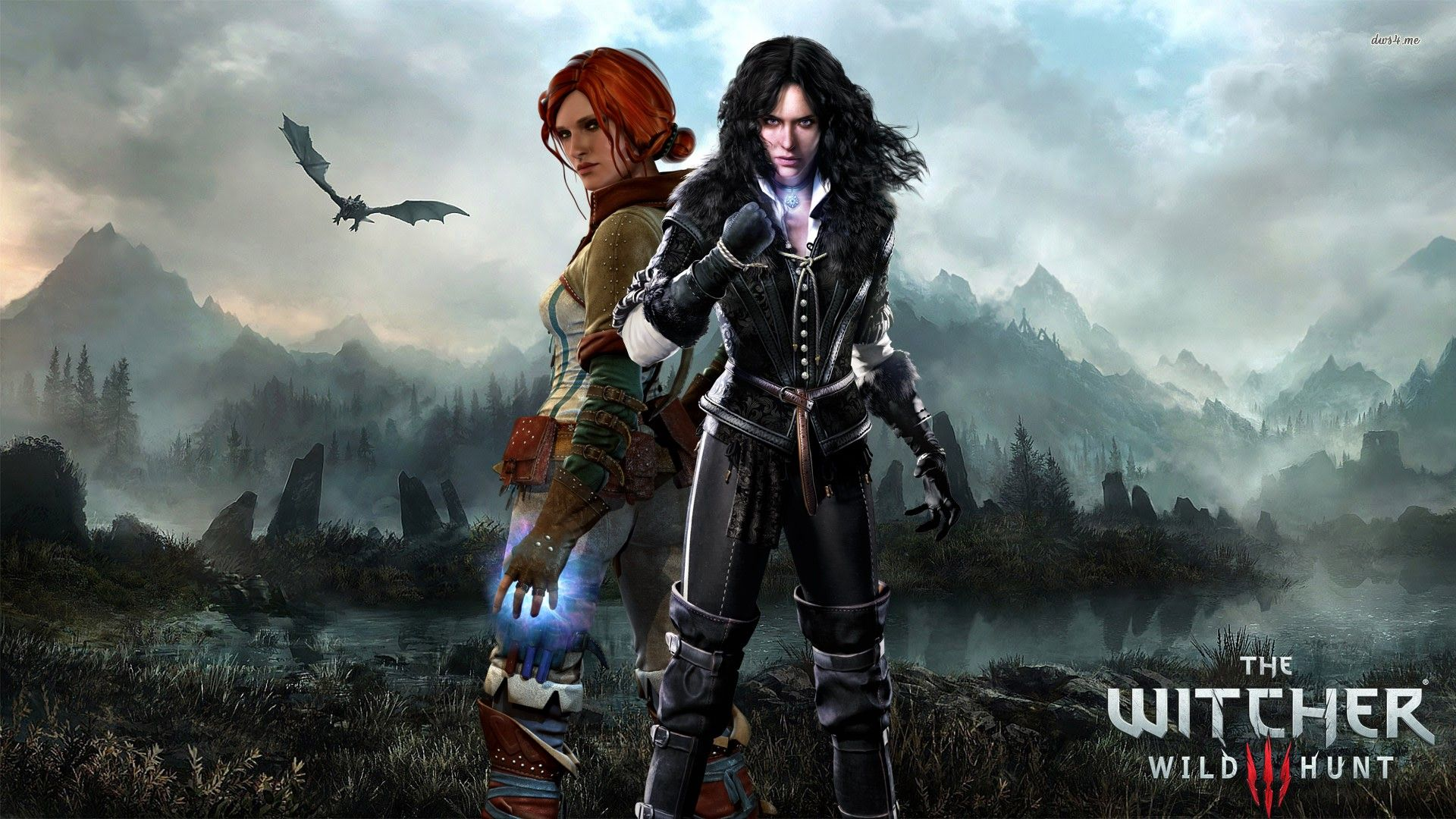 Triss Merigold Hd Wallpaper With Images The Witcher The