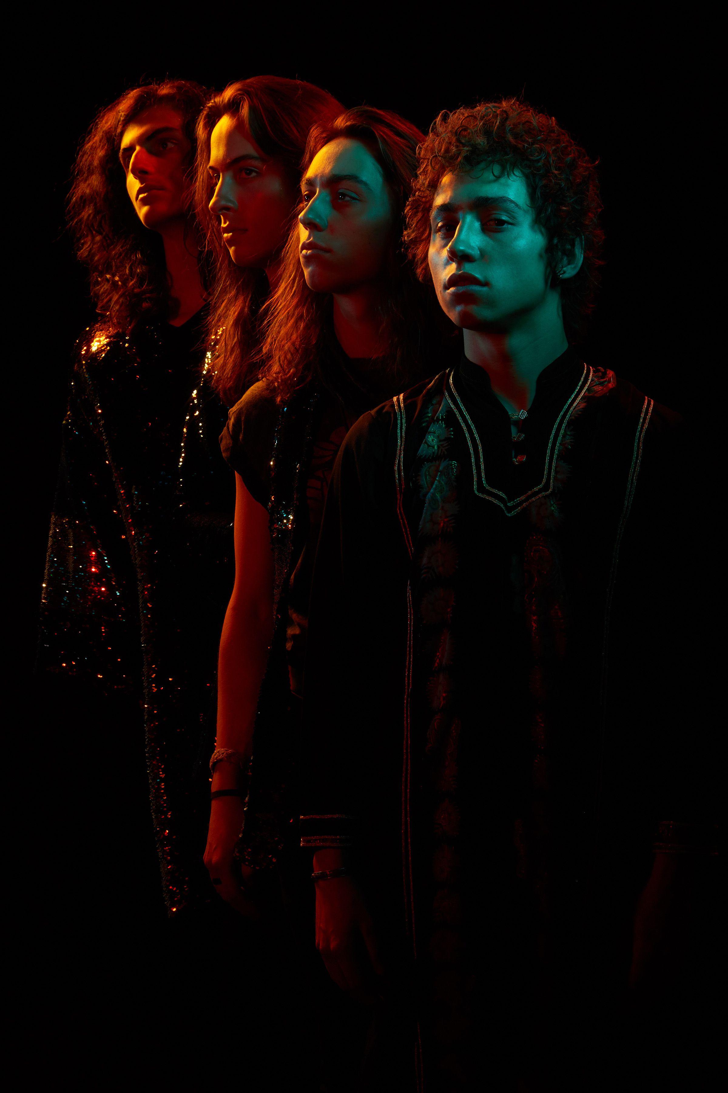 Interview With Greta Van Fleet Band Photoshoot Rock Bands Photography Band Photography
