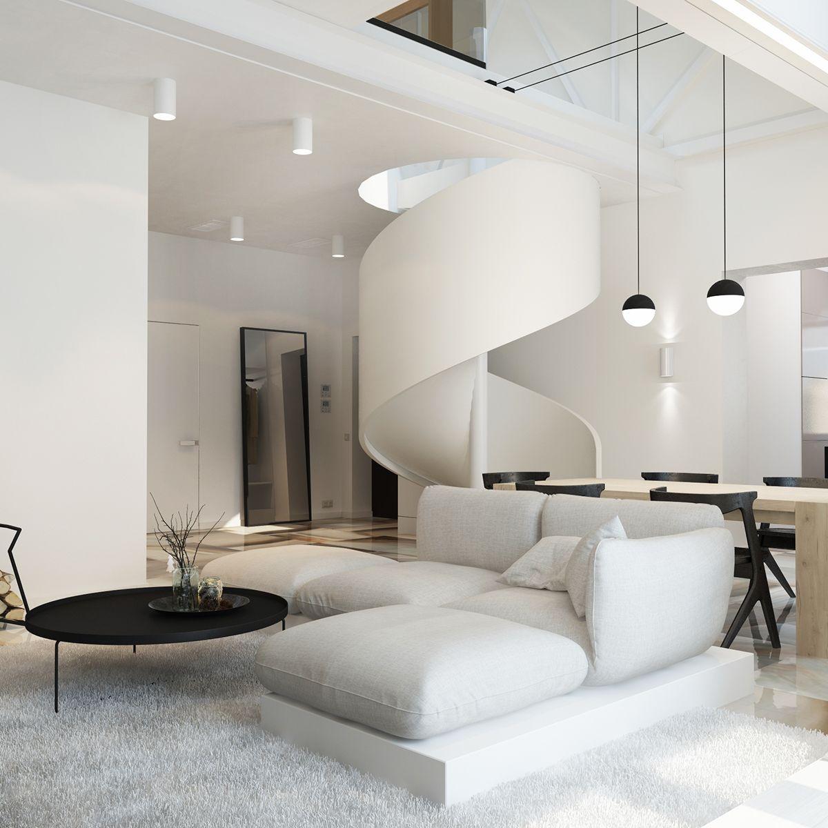 Penthouse Design Wohnung / Stil Fabrik Blog Christoph Baum