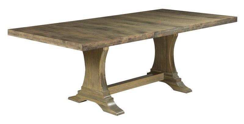 Saloom Furniture Cheshire Trestle Extendable Dining Table Dining