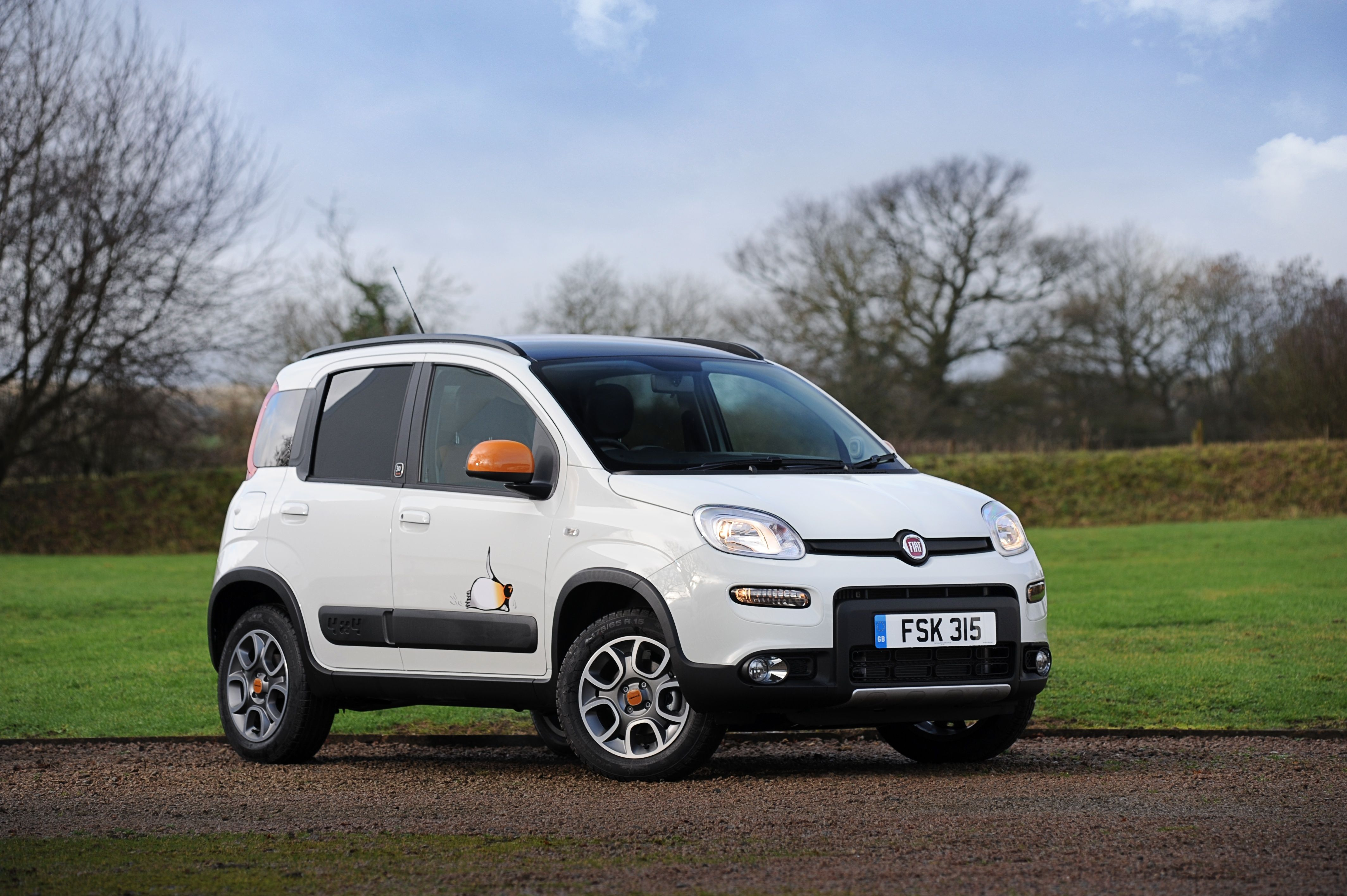 The New Panda 4x4 Antarctica Is Distinguished By A Wealth Of