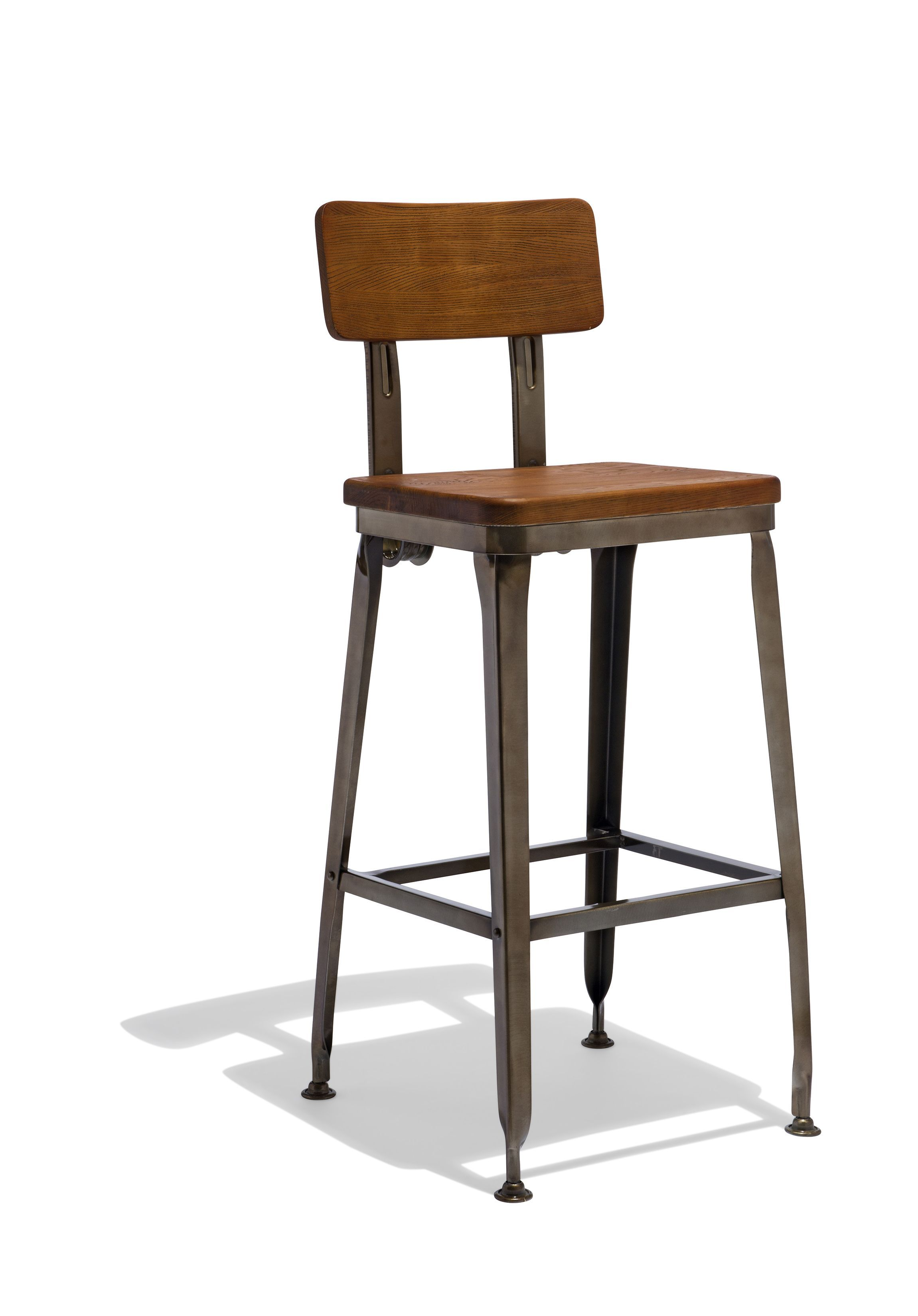 Octane Counter Stool With A Wood Seat Farmhouse Bar Stools Rustic Bar Stools Counter Stools
