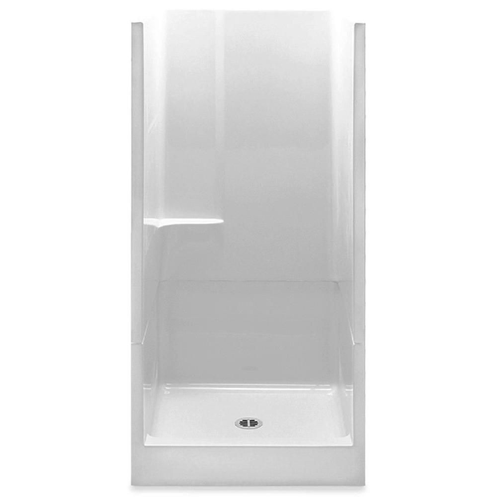 Aquatic Remodeline 36 In X 36 In X 72 In 2 Piece Shower Stall