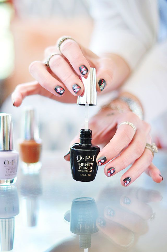 Have you tried the NEW @OPI_Products Infinite Shine lacquers? Share your nail art & manis using #InfiniteShine #ad
