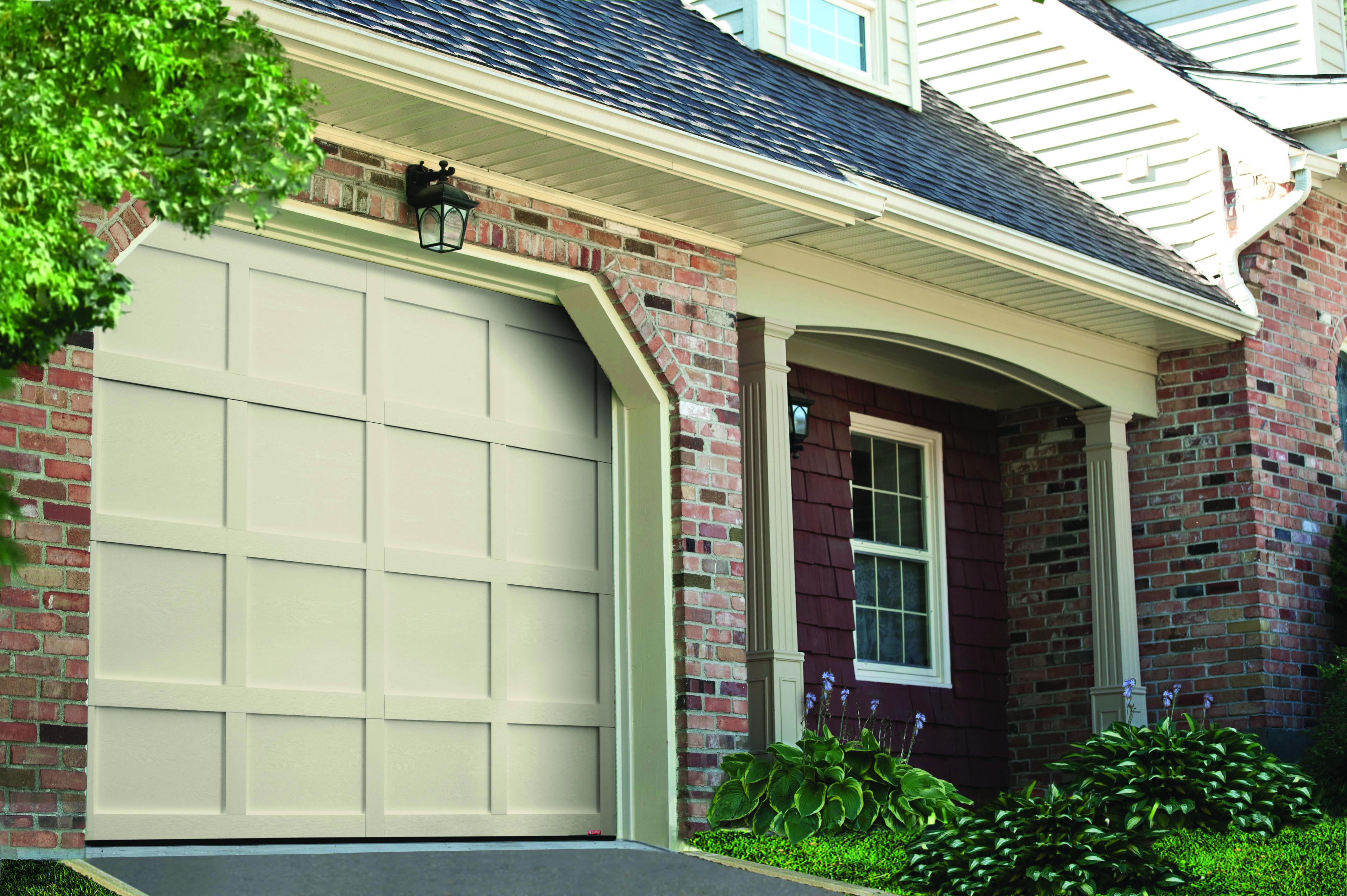 Garage Door Model Cambridge Traditional 9 X 7 Desert Sand Door
