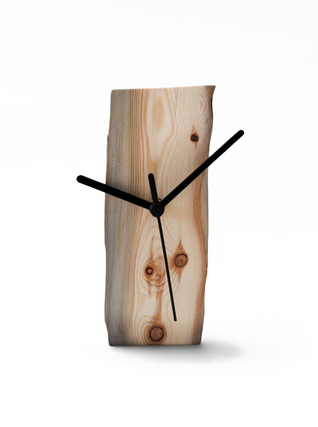 horloge de bois flott horloge en bois horloge murale par railis clocks pinterest. Black Bedroom Furniture Sets. Home Design Ideas
