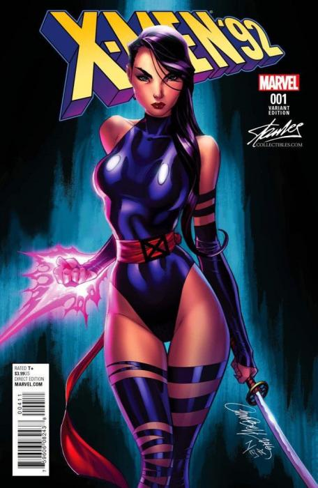 Like A Butterfly Stan Lee Collectibles Exclusive X Men 92 1 Variant By J Scott Campbell J Scott Campbell Scott Campbell Psylocke