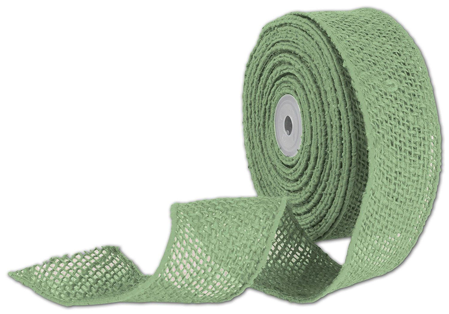 Ribbons Solid Color Green Wired Burlap Ribbon 2 X 10 Yds 1 Roll Bows Burlap 17 Details Can Be Found By Clicking Burlap Ribbon Burlap Gift Wrap Ribbon