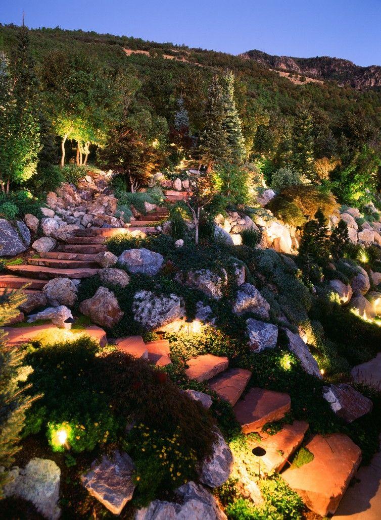Pathway Lighting Professional Lighting Utah Brite Nites Pathway Lighting Landscape Lighting Pathways