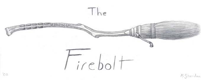 The Firebolt by Manveruon | Harry-Potter-Tattoos | Harry potter und ...