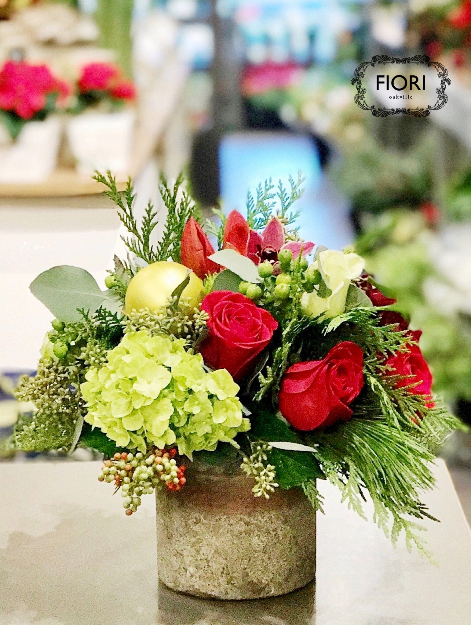 * Our signature flower arrangements truly are handcrafted