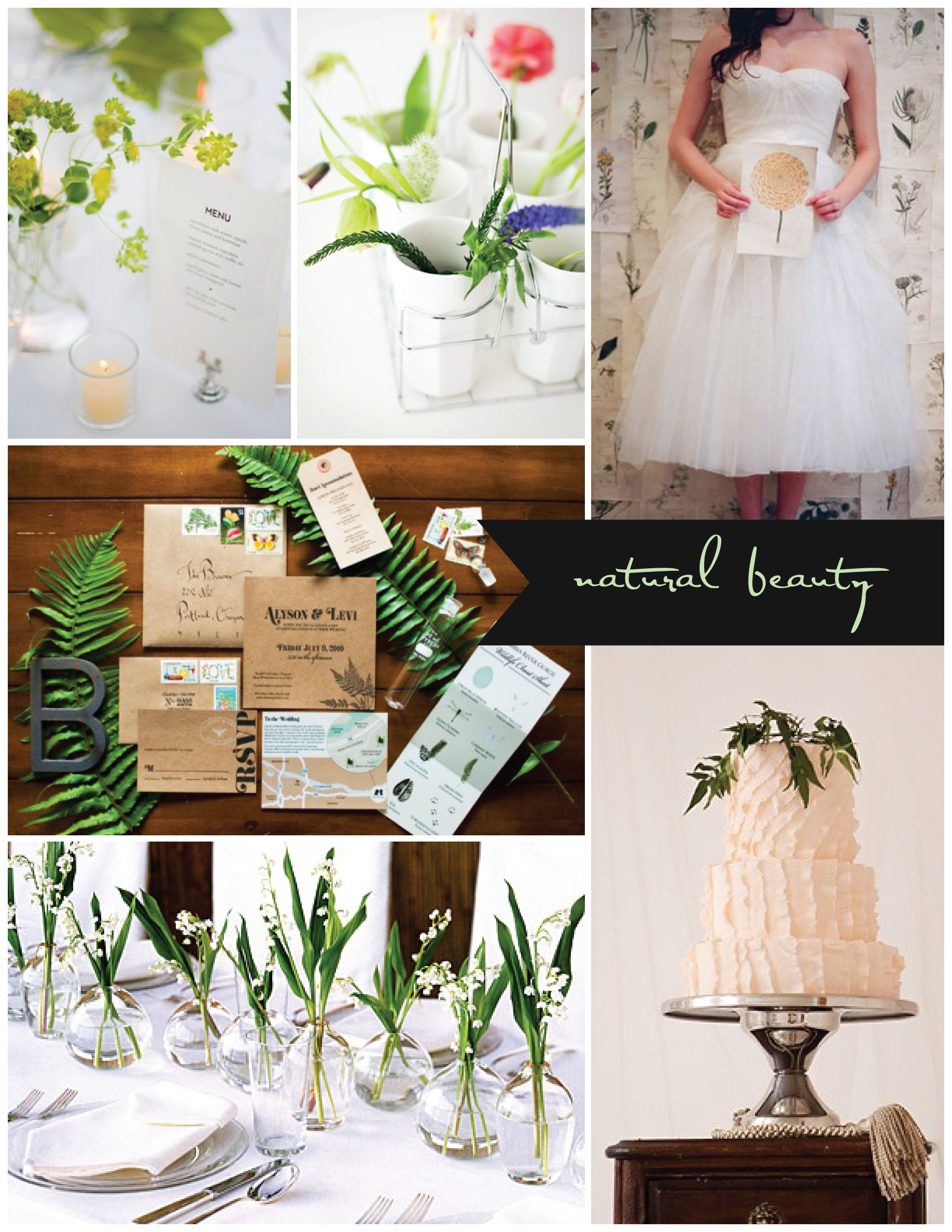 Nature Themed Wedding Tuesday Morning Inspiration Natural Beauty
