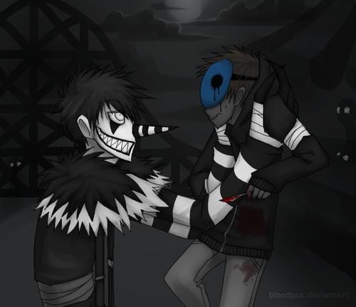 Creepypasta Eyeless Jack And Jeff The Killer