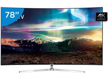 Smart Tv Led Curva 78 Samsung 4k Ultra Hd Suhd 78ks9000