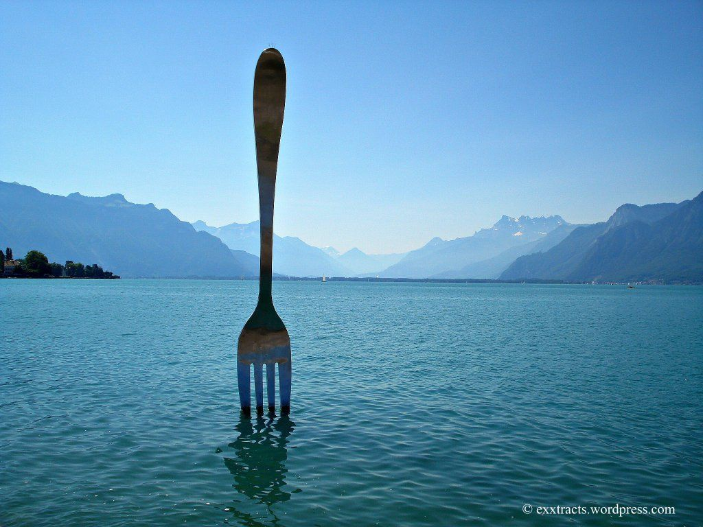 That Great Big Fork Of Vevey Vevey Fork Over The River