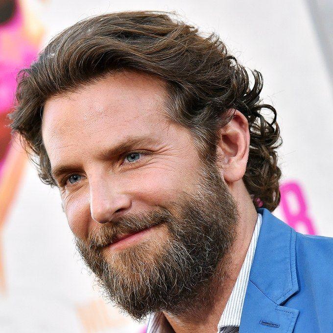 Let Bradley Cooper S Beard Teach You A Few Things About Personal Grooming Bradley Cooper Hair Long Hair Styles Men Wavy Hair Men