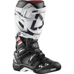 Leatt Gpx 5.5 FlexLock Motocross Stiefel Schwarz Weiss 45 46 Leatt BraceLeatt Brace #blackhairstyles