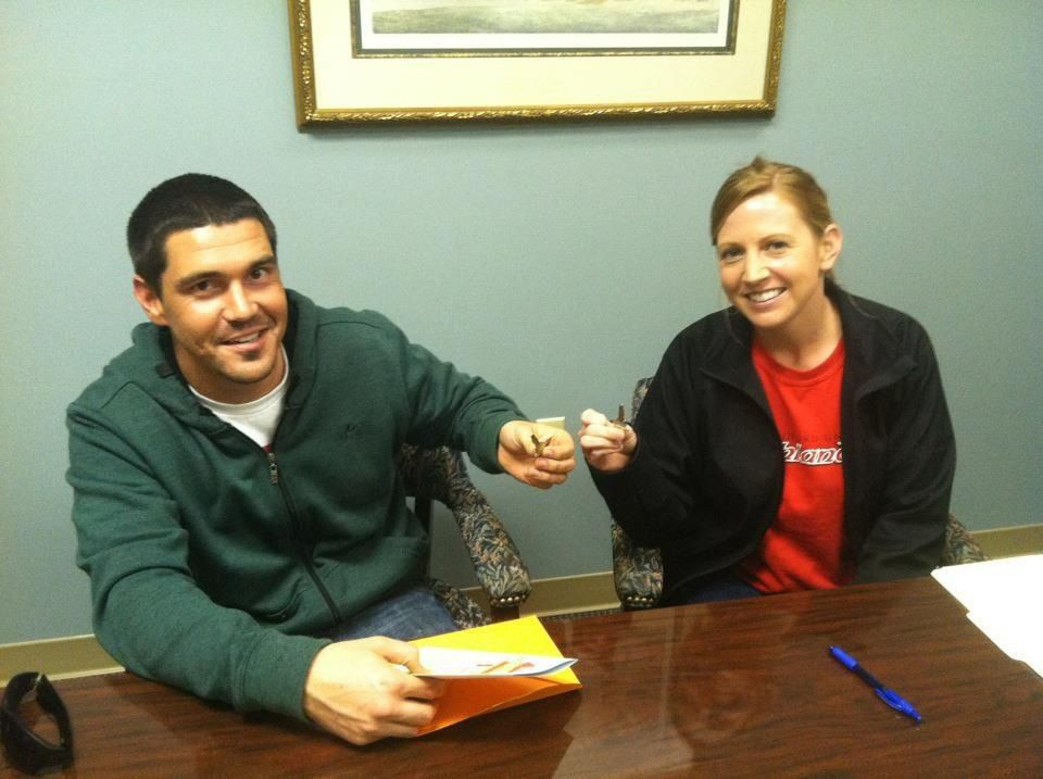 Jimmy and Annabeth daly! Some of my my loyal clients, this was their 4th transaction with me!