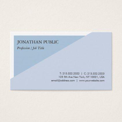 Trendy modern elegant blue creative design plain business card trendy modern elegant blue creative design plain business card creative design and weddings colourmoves
