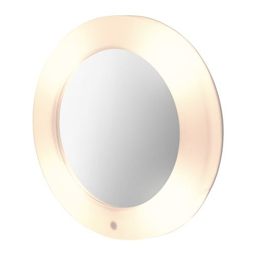 Ikea Lilljorm Mirror With Integrated Lighting A