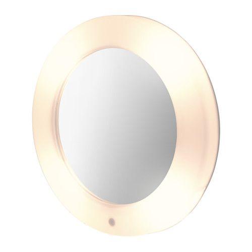 ikea lilljorm spiegel mit beleuchtung spiegel und leuchte in einem clever - Makeup Eitelkeit Beleuchtung Ikea