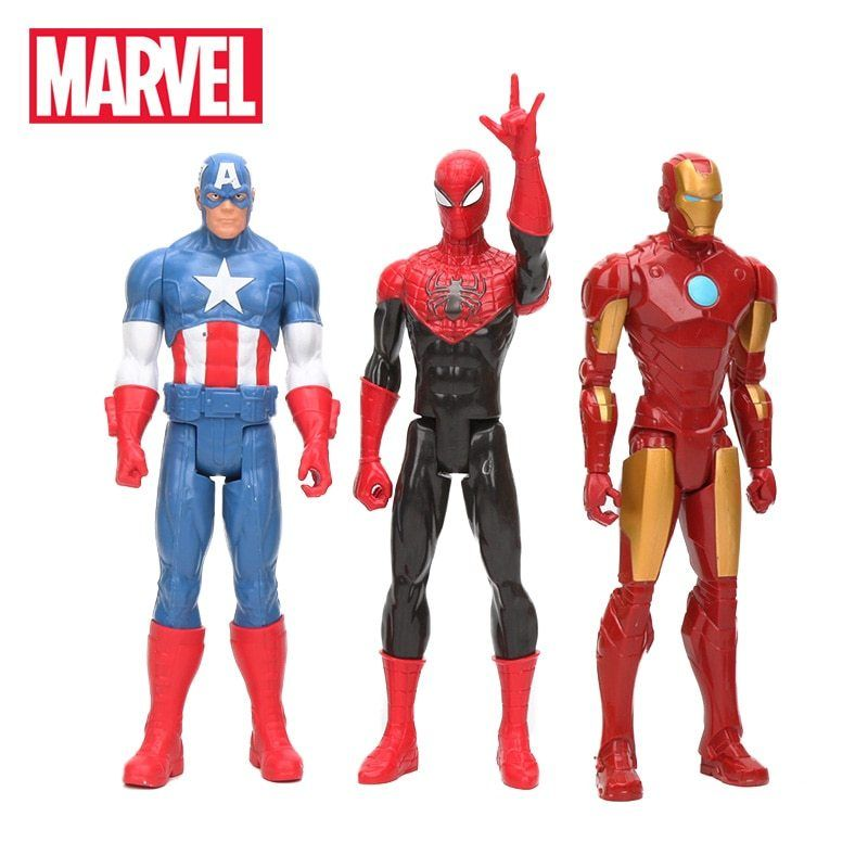 New 30cm Marvel The Avengers Superhero Spiderman Action Figure Figure Toy IT