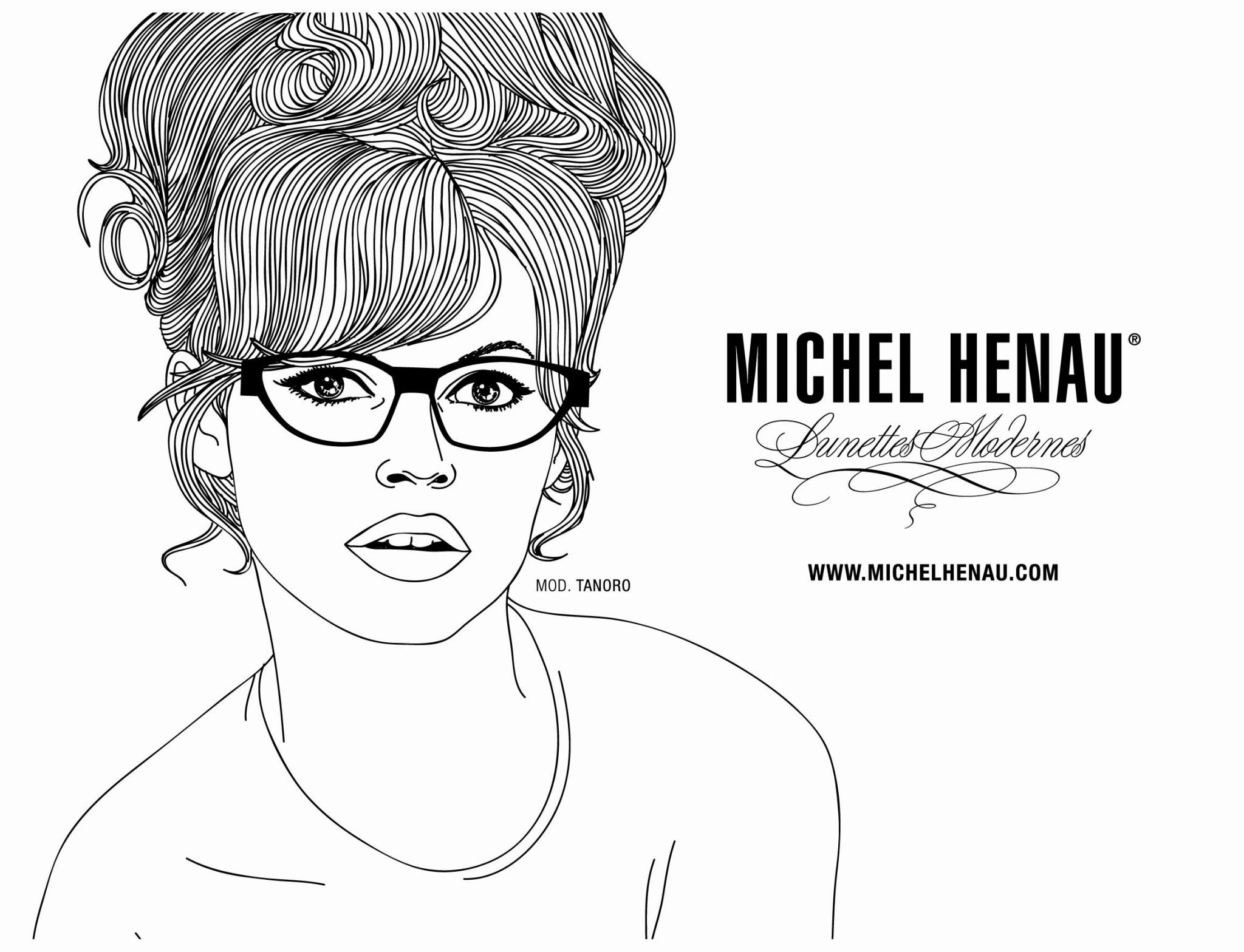 Michel Henau is a Belgian eyewear brand specialising in vintage designs that have been reimagined in a futuristic way. Their latest campaign features celebs of the past wearing the brand's glasses frames. We especially love their round designs.