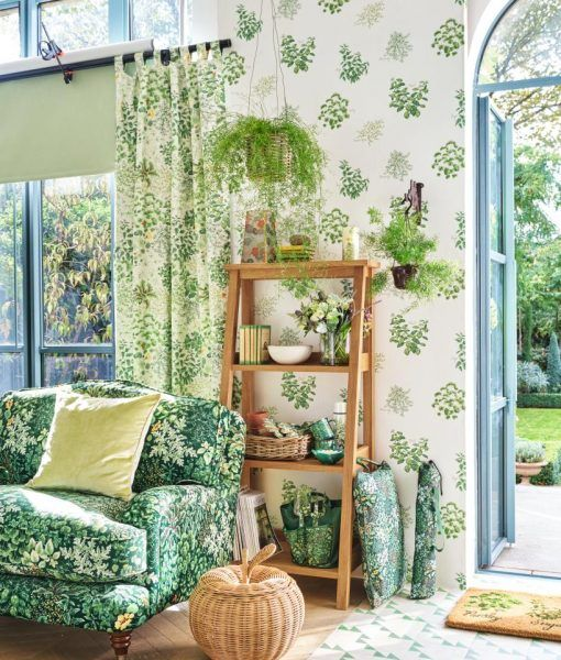 bring the outside in with this fantastic wallpaper featuring our