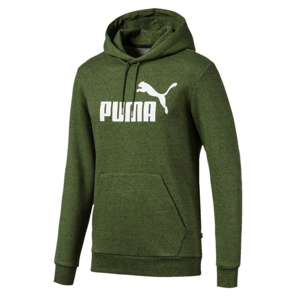 Photo of Men's PUMA Essential Logo Hoodie, Size: Small, Green #formal suit Men's PUMA Ess…