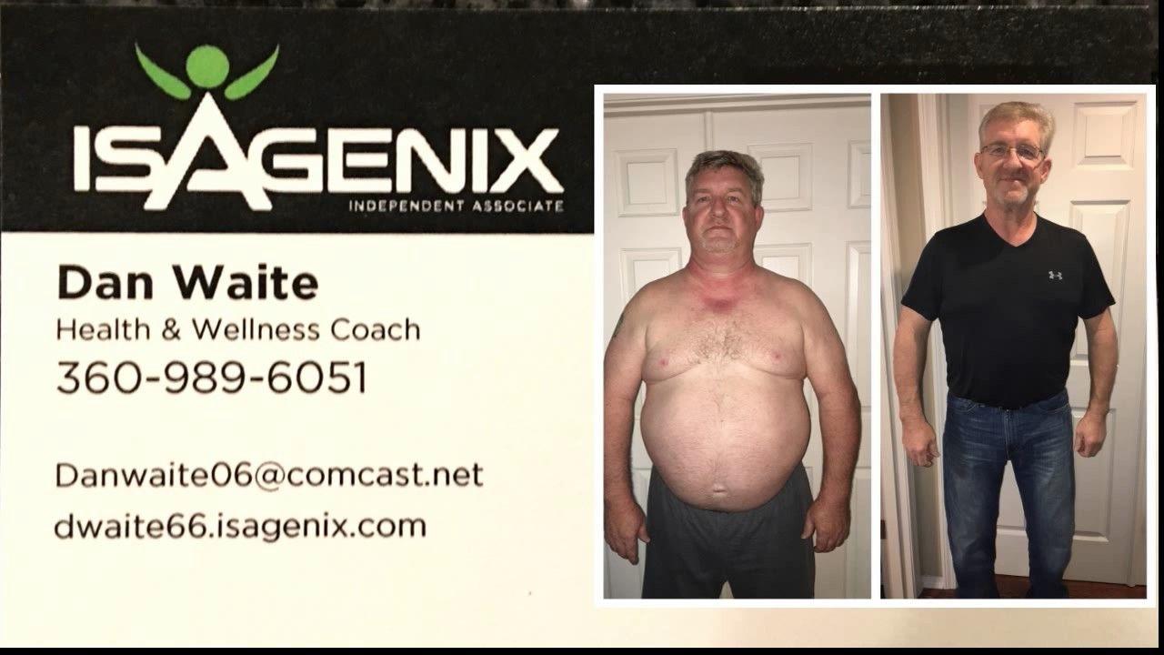 Dan Waite Isagenix Weight Loss Testimonial
