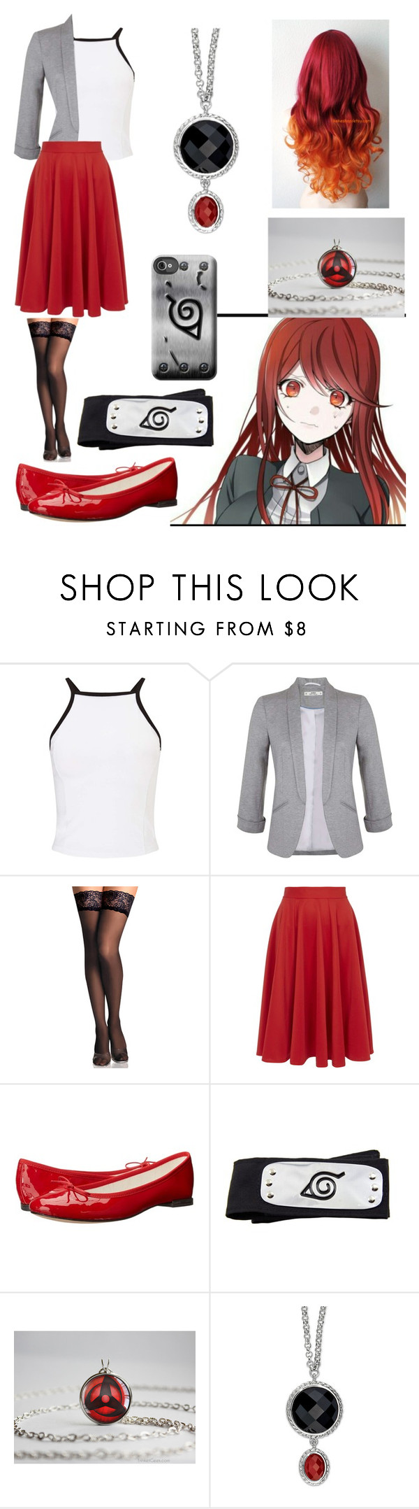 """for a story on wattpad"" by nightmare-reaper ❤ liked on Polyvore featuring Miss Selfridge, Closet and Repetto"