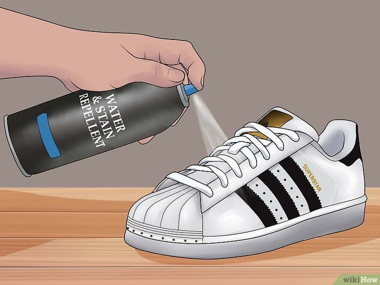 Ways To 3 Superstar Shoes Adidas Keep Wikihow White Clean