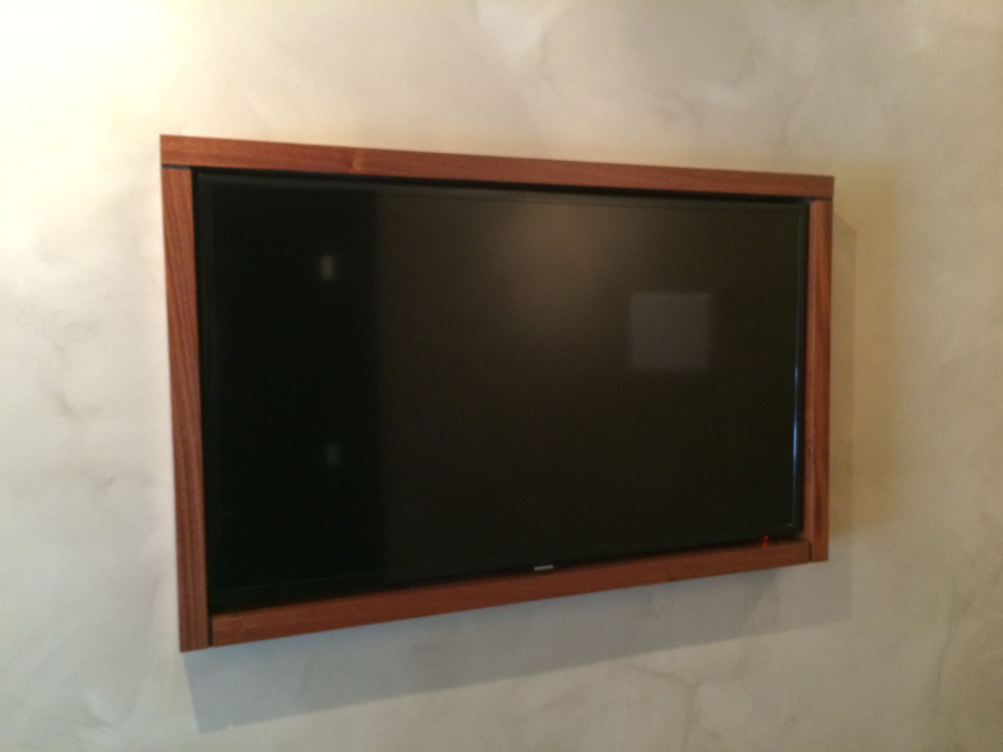 Custom Frame Made Out Of Mahagony