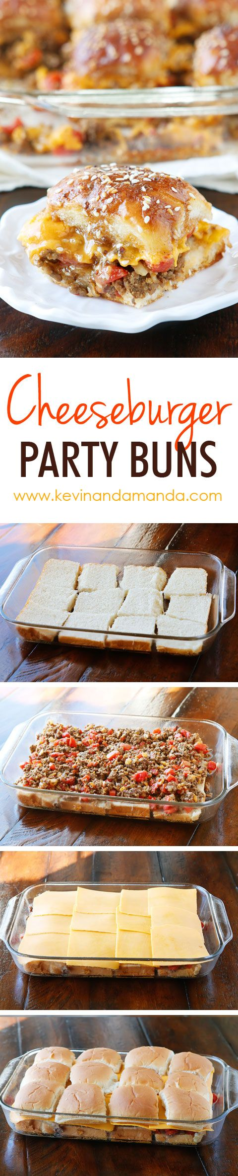Cheesy Party Burgers | Easy Burgers Recipe For a Party