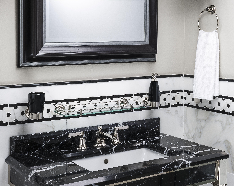 Style Moderne Art Deco bathroom shot | Bathroom ...