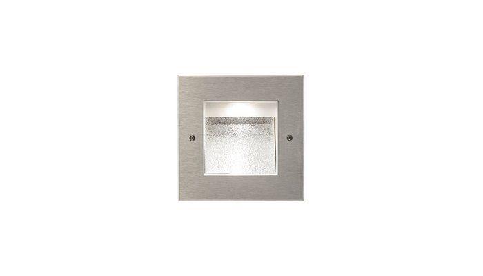 Quadro mini spring asymmetrical led recessed in passivated
