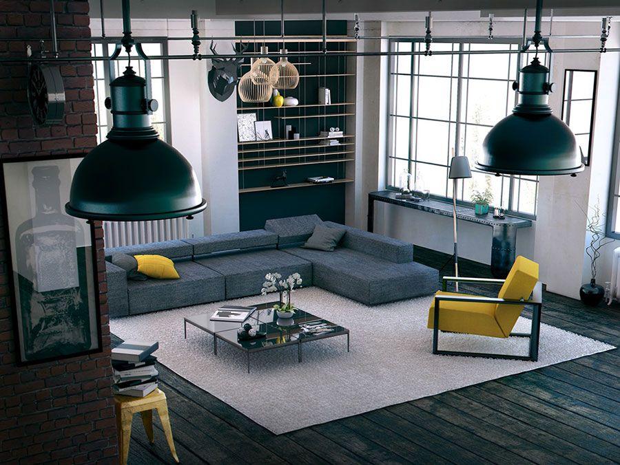 Arredare con il Giallo: 25 Idee di Design per Living ...