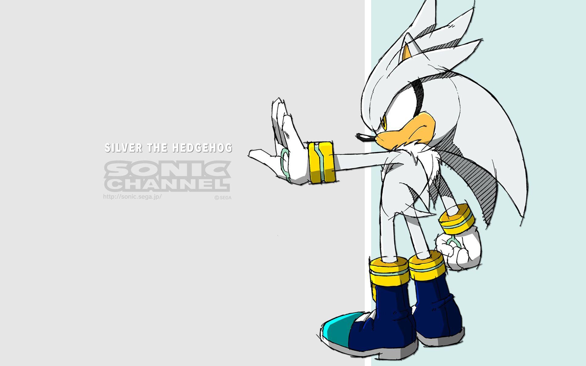 Computerspiele Sonic Silver The Hedgehog Wallpaper Silver The Hedgehog Sonic Silver The Hedgehog Wallpaper