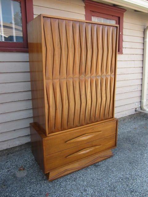 Best Details About Fabulous Mid Century Modern Tall Dresser 400 x 300