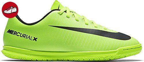 buy popular 90aff 3c1eb Nike Unisex-Kinder Mercurial Vortex Iii Ic Fußballschuhe, Grün (ELECTRIC  GreenBlk