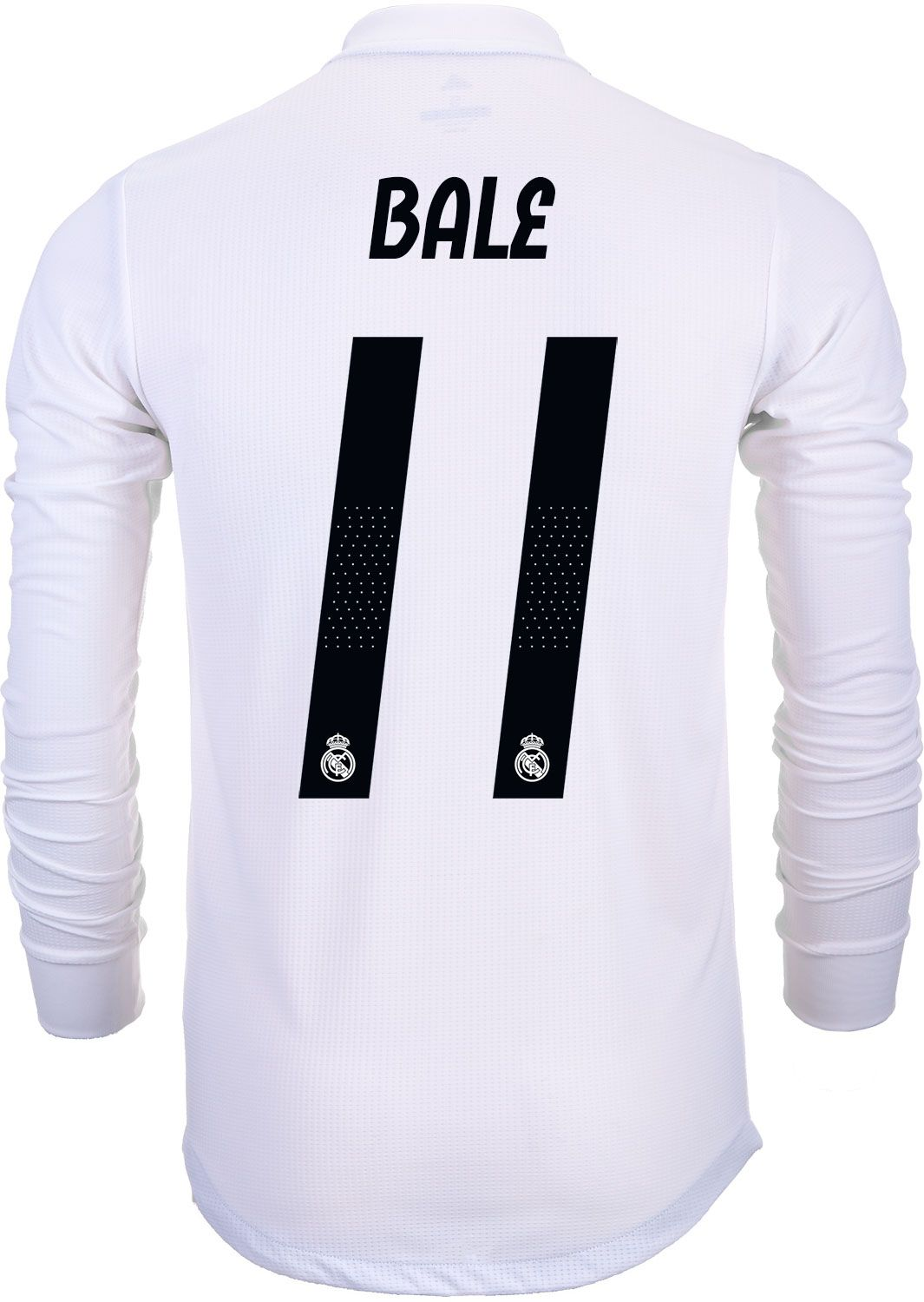 c52a076c5 adidas Gareth Bale Real Madrid Home Authentic L S Jersey 2018-19 ...